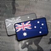 Gun Point Gear Australian Flag PVC Patch